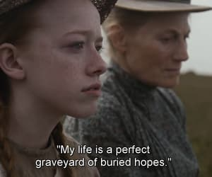 anne with an e, quotes, and series image