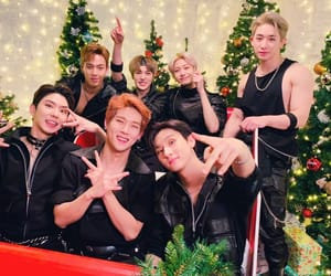 christmas and monsta x image