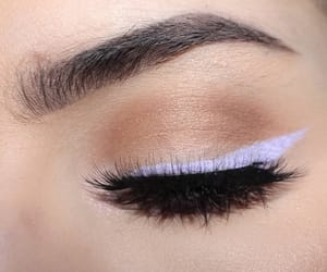eyeliner, pink, and teens image