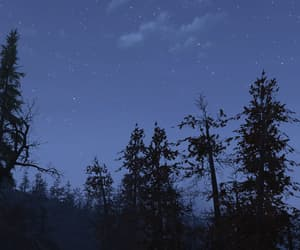 blue, clear, and stars image