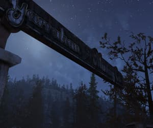 dark, fallout, and forest image