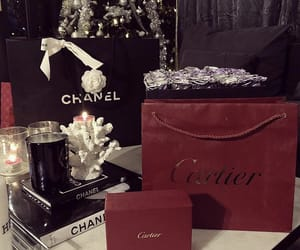 cartier, christmas, and shopping image