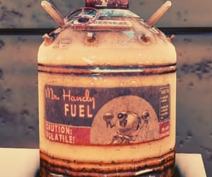 caution, fallout, and fuel image