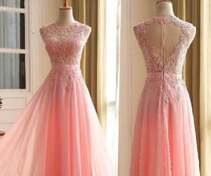 sleeveless prom dresses, custom made prom dresses, and evening dresses chiffon image