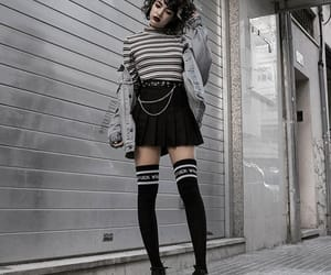 girl, goals, and outfit image