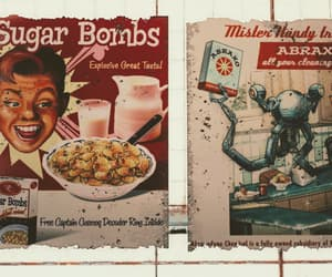 advertisement, sugar bombs, and mr handy image