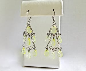 crystals, dangles, and etsy image