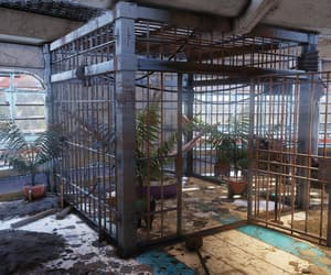 cage, empty, and fallout image