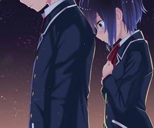 anime, rikka, and love image