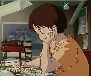 anime, gif, and studying motivation image