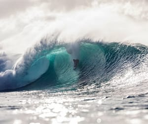 big wave, pipe, and wave of the winter image