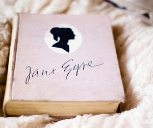 book, jane eyre, and pink image
