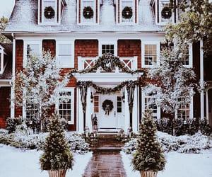 christmas, cozy, and home exterior image
