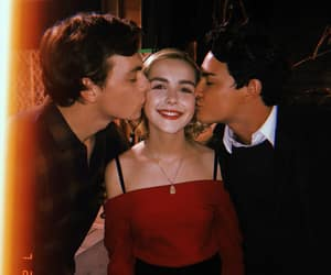 kiss, sabrina, and witch image