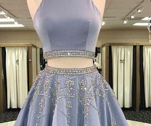 short homecoming dress and prom dresses blue image