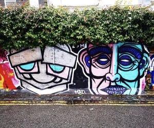 art, graffiti, and travel image