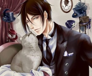 anime, art, and black butler image