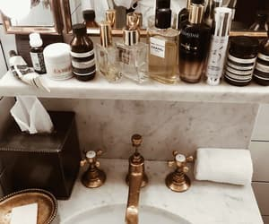 beauty, bathroom, and perfume image