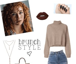 brunch, fall, and outfit image