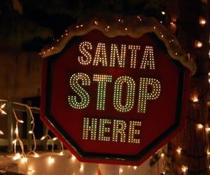 christmas, can't, and santa image