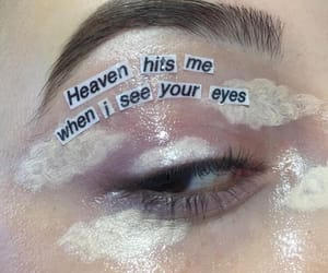 aesthetic, clouds, and eyes image