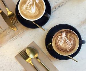 caffeine, coffee, and coffee cup image