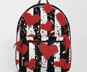 bags, love, and hearts image