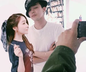 couple, gdragon, and tiffany image