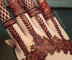 art, henna, and حناء image
