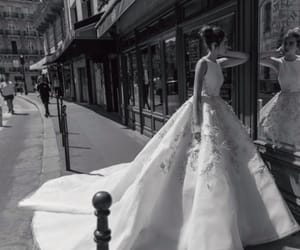 bride, Couture, and dress image