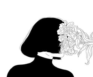 art, bob, and black image