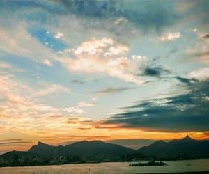 blue, céu, and rio image