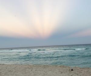 atardecer, playa, and cancún image