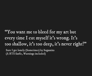 art, quotes, and bangtan image