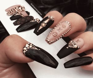 beauty, nail inspo, and nail goals image