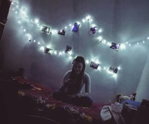 aesthetic, decorations, and lights image