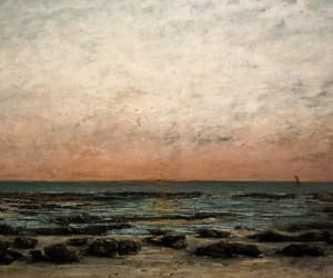 art, france, and gustave courbet image