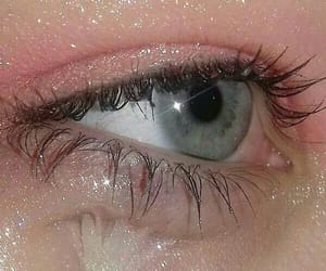 aesthetic, eyes, and blue image