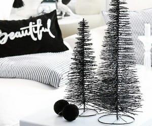 christmas, black, and black and white image