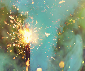 photography, beautiful, and sparkler image