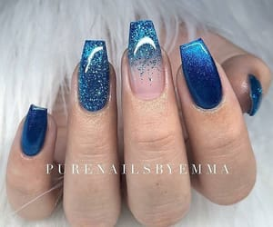 blue, designs, and glitter image