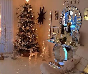 home, christmas, and decor image