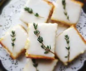 food, yummy, and lemon bars image