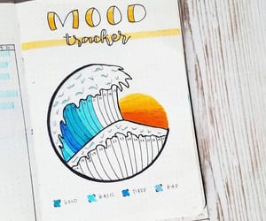 journal, mood, and ocean image