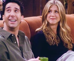 friends, rachel green, and ross image
