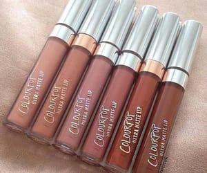 makeup, lipstick, and colourpop image