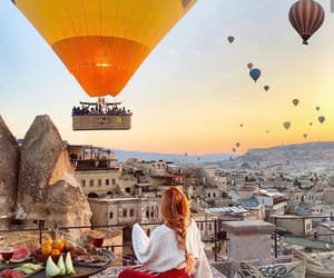 air balloon, balloons, and luanna image