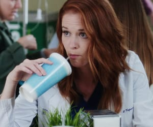grey's anatomy and april kepner image