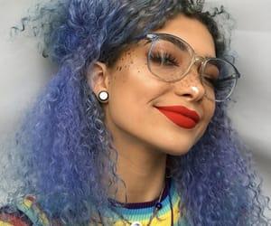 blue hair limecrime babe image