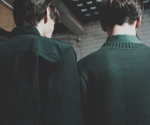 slytherin, green, and aesthetic image